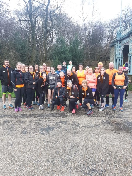 Alexander Parkrun double NYD 2019
