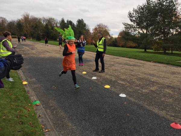 Amy's 100th Parkrun